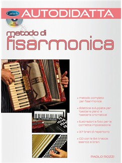 Autodidatta: Metodo di Fisarmonica Books and CDs | Accordion