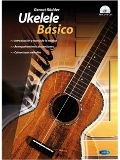 Ukelele Básico CD y Libro | Ukelele