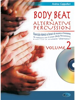 Body Beat & Alternative Percussions, Volume 2 CD y Libro | Percusión