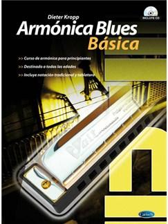 Armónica Blues Básica CD y Libro | Armónica