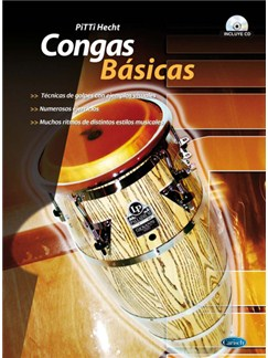 Congas Básicas Books and CDs | Percussion, Congas