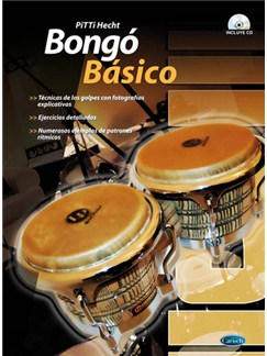 Bongó Básico Books and CDs | Percussion, Bongos