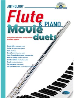 Movie Duets for Flute & Piano Books and CDs | Flute, Piano