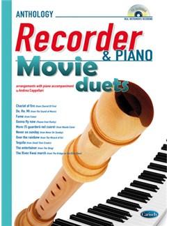 Movie Duets for Recorder & Piano Books and CDs | Soprano (Descant) Recorder, Piano Accompaniment