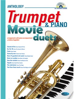 Movie Duets for Trumpet & Piano Books and CDs | Piano, Trumpet