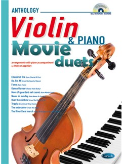 Movie Duets for Violin & Piano Books and CDs | Piano, Violin