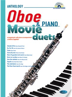 Movie Duets for Oboe & Piano Books and CDs | Oboe, Piano