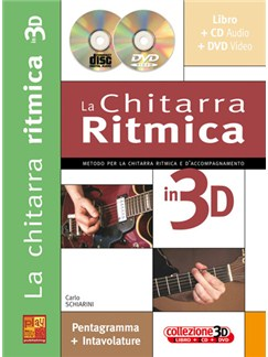 La Chitarra Ritmica in 3D Books, CDs and DVDs / Videos | Guitar