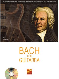 Bach a la Guitarra CD y Libro | Guitar