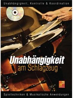 Unabhängigkeit am Schlagzeug Buch und DVDs / Videos | Drums
