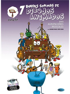 7 Dibujos Animados - Director CD y Libro | Orchestra