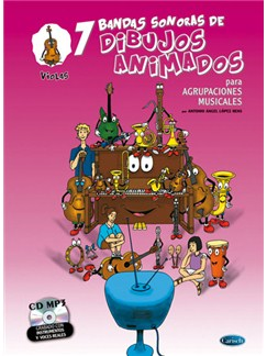 7 Dibujos Animados - Violas Books and CDs | Viola