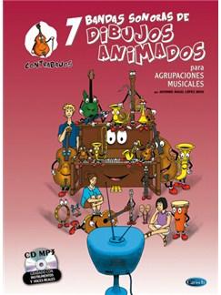 7 Dibujos Animados - Contrabajos CD y Libro | Double Bass