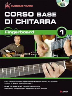 Massimo Varini: Corso Base Di Chitarra - Fingerboard Vol. 1 DVD Edition Books and DVDs / Videos | Guitar