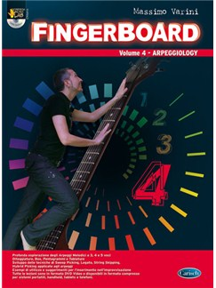 Fingerboard, Volume 4 (Arpeggiology) Books and DVDs / Videos | Guitar