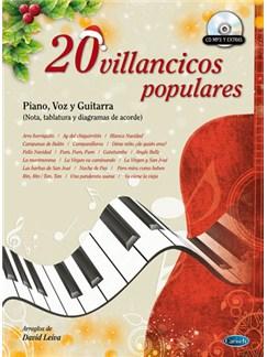 20 Villancicos Populares Books and CDs | Piano, Vocal & Guitar