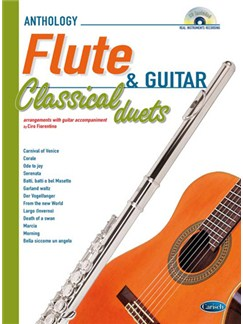 Classical Duets for Flute and Guitar Vol.1 Books and CDs | Flute, Guitar