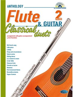 Classical Duets for Flute and Guitar Vol.2 Books and CDs | Flute, Guitar