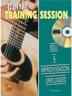 Guitar Training Session: Soli & Improvvisazione Unplugged Books and CDs | Guitar