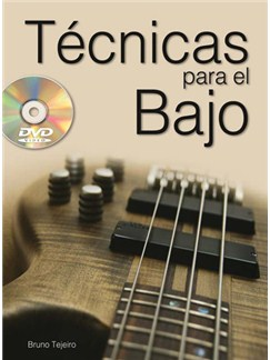 Tecnicas para el Bajo DVDs / Videos y Libro   Bass Guitar