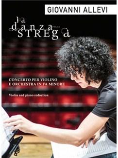 Giovanni Allevi: La Danza della Strega Books | Violin, Piano