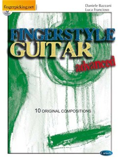 Fingerstyle Guitar, Advanced Bog og CD | Guitar