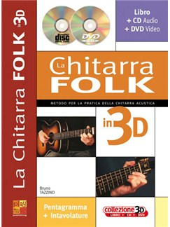 La Chitarra Folk in 3D Books, CDs and DVDs / Videos | Guitar