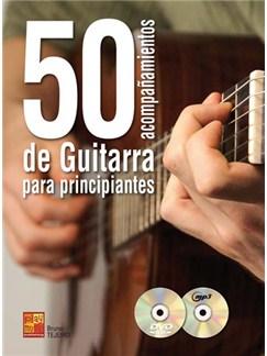 50 Acompañamientos de Guitarra para Principiantes CD, DVDs / Videos y Libro | Guitar