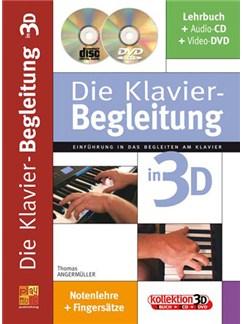 Die Klavier-Begleitung in 3D Buch, CD und DVDs / Videos | Piano