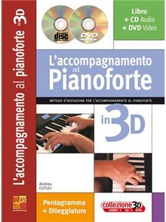 Accompagnamento al Pianoforte in 3D Books, CDs and DVDs / Videos | Piano