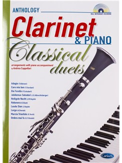 Andrea Cappellari: Classical Duets - Clarinet/Piano (Book/CD) Books and CDs | Clarinet, Piano Accompaniment