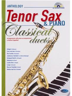 Andrea Cappellari: Classical Duets - Tenor Saxophone/Piano (Book/CD) Bog og CD | Tenorsaxofon, Klaverakkompagnement