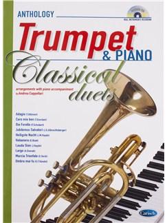 Andrea Cappellari: Classical Duets - Trumpet/Piano (Book/CD) Books and CDs | Trumpet, Piano Accompaniment