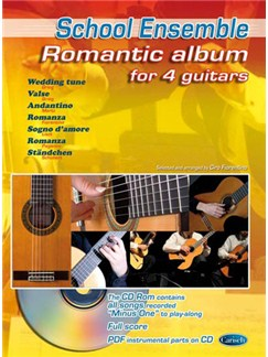 Romantic Album for 4 Guitars Libro | Guitarra(Cuarteto)