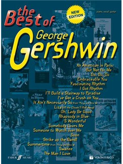 The Best of George Gershwin Books | Piano, Vocal & Guitar