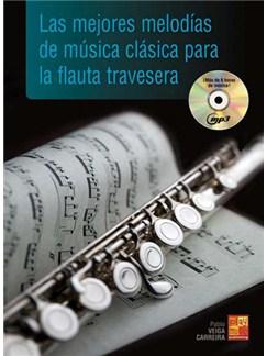 Las mejores melodías de música clásica para la flauta traversera CD y Libro | Flute