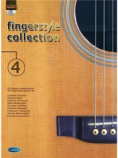 Fingerstyle Collection Vol.4 Books and CDs | Guitar