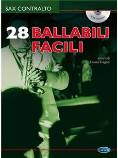 28 Ballabili Facili per Sax Contralto CD y Libro | Saxofón