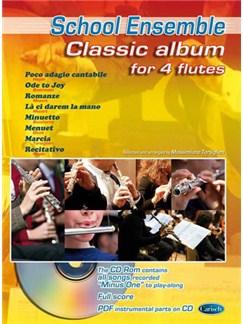 Classic Album for 4 Flutes Bog og CD | Fløjte(Kvartet)