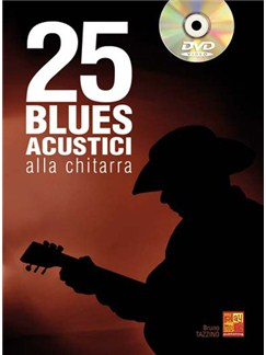 25 Blues Acustici alla Chitarra Books and CDs | Guitar