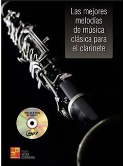 Las mejores melodías de música clásica para el clarinete Books and CDs | Clarinet