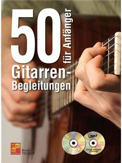 50 Gitarren-Begleitungen für Anfänger (Book/CD/DVD) Books, CDs and DVDs / Videos | Guitar