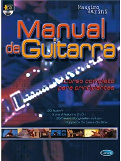 Manual de Guitarra. Curso completo para principiantes DVDs / Videos y Libro | Guitar