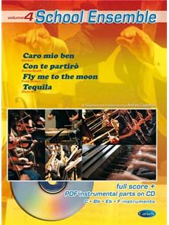School Ensemble, Volume 4 CD et Livre | Ensemble d'École