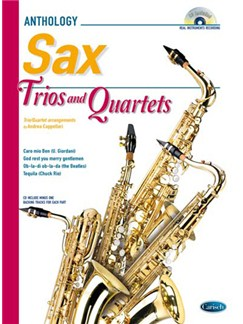 Cappellari Sax Trios 4tets Bk/Cd Books and CDs | Saxophone
