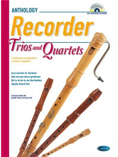 Cappellari Recordr Trios 4tets Bk/Cd Books and CDs | Recorder Ensemble