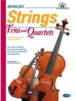 Cappellari Strings Trios 4tets Bk/Cd Books and CDs | String Instruments