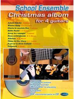Christmas Album for 4 Guitars Books and CDs | Guitar (Quartet)