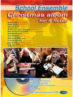 Christmas Album for 4 Flutes Books and CDs | Flute