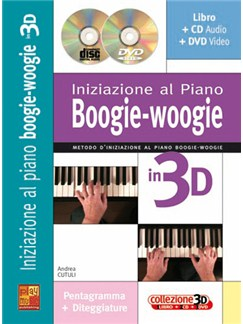 Iniziazione al Piano Boogie Woogie in 3D Books, CDs and DVDs / Videos | Piano